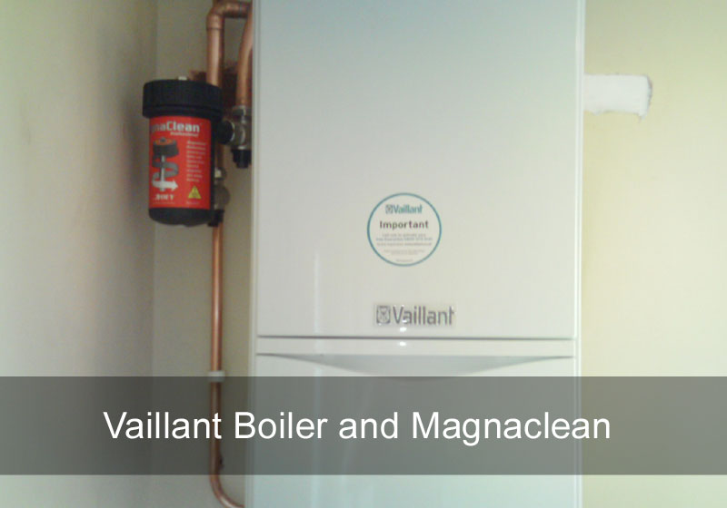 Vaillant Boiler and Magnaclean