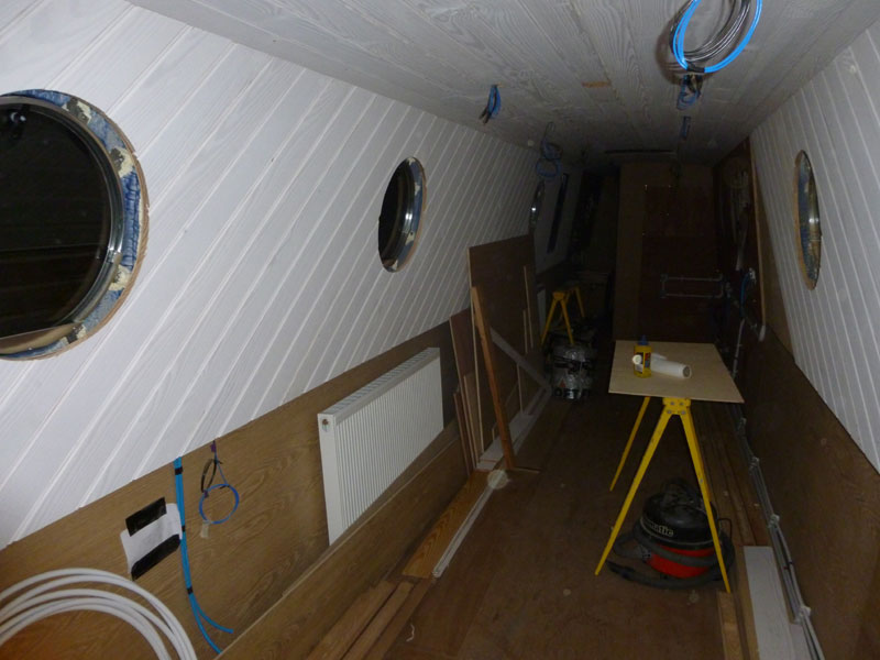 Narrow Boat Fit Out
