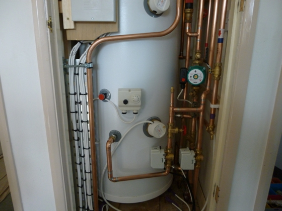 Mains pressure Hot Water System in Ashby