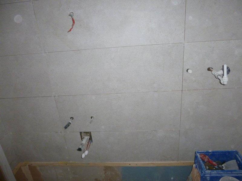 One metre long tiles.